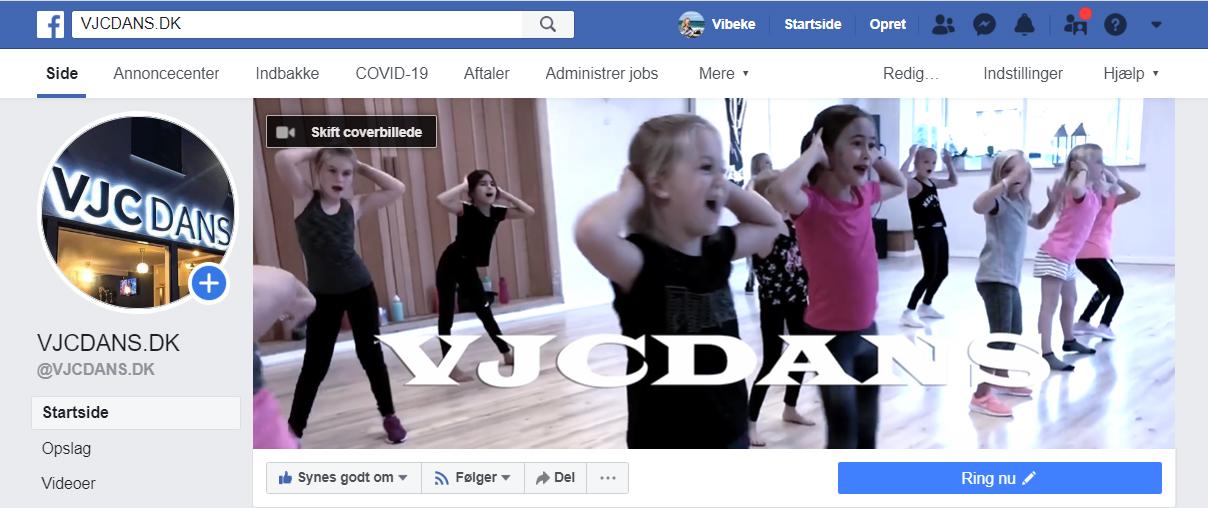 Ny Dance Camp i uge 32, VJCDANS Hillerød, Nordsjælland