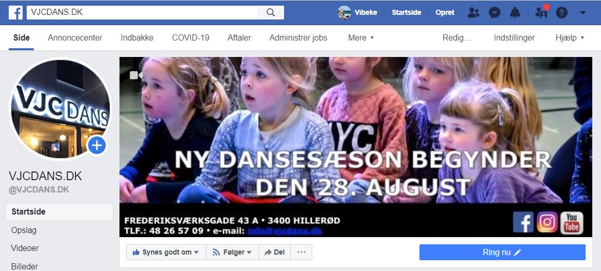Lad os danse igen, Vjcdans, Hillerød, Nordsjælland
