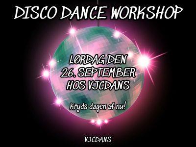 Disco Workshop, VJCDANS Hillerød, Nordsjælland