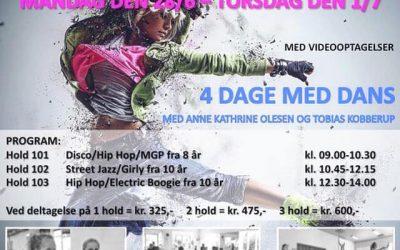 Dance Camp Uge 26, 2021