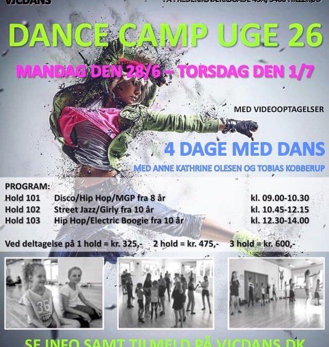 Dance Camp Uge 26, 2021, VJCDANS, Hillerød, Nordsjælland